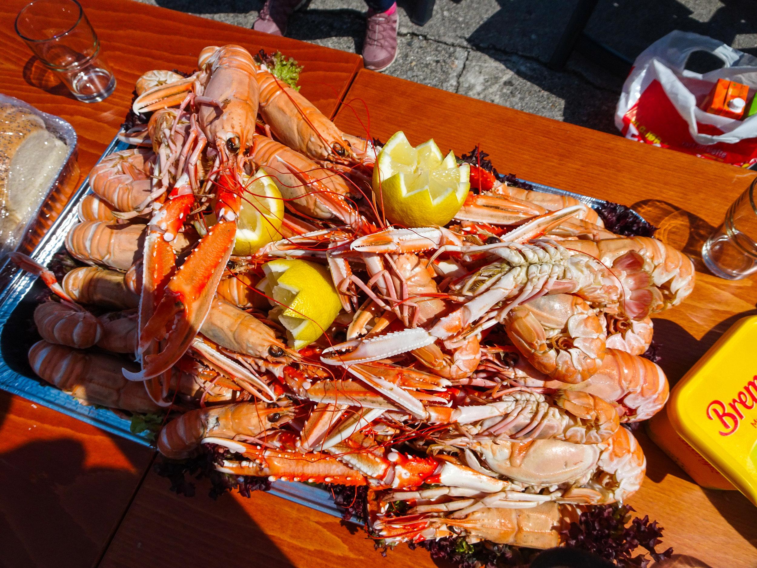 fresh seafood utsira norway