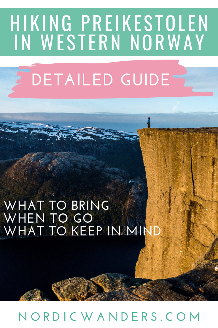 All you need to know in order to hike Pulpit Rock safe and sound