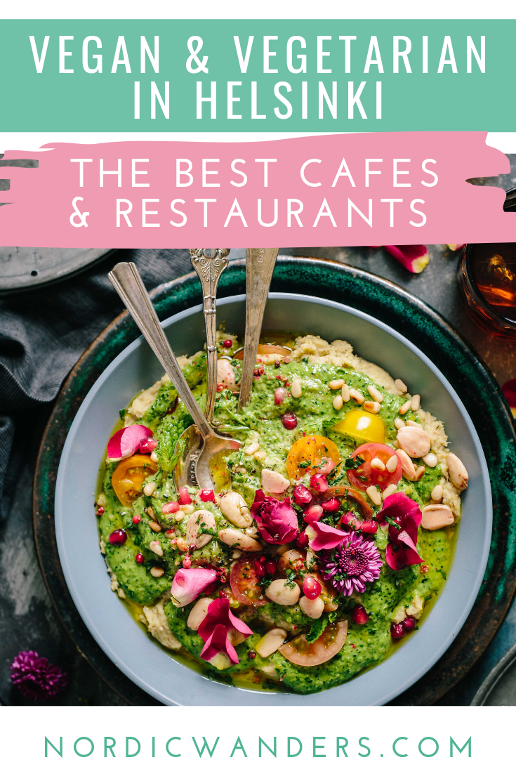 Wondering where to find the best vegan and vegetarian restaurants in Helsinki? Click through to find out!