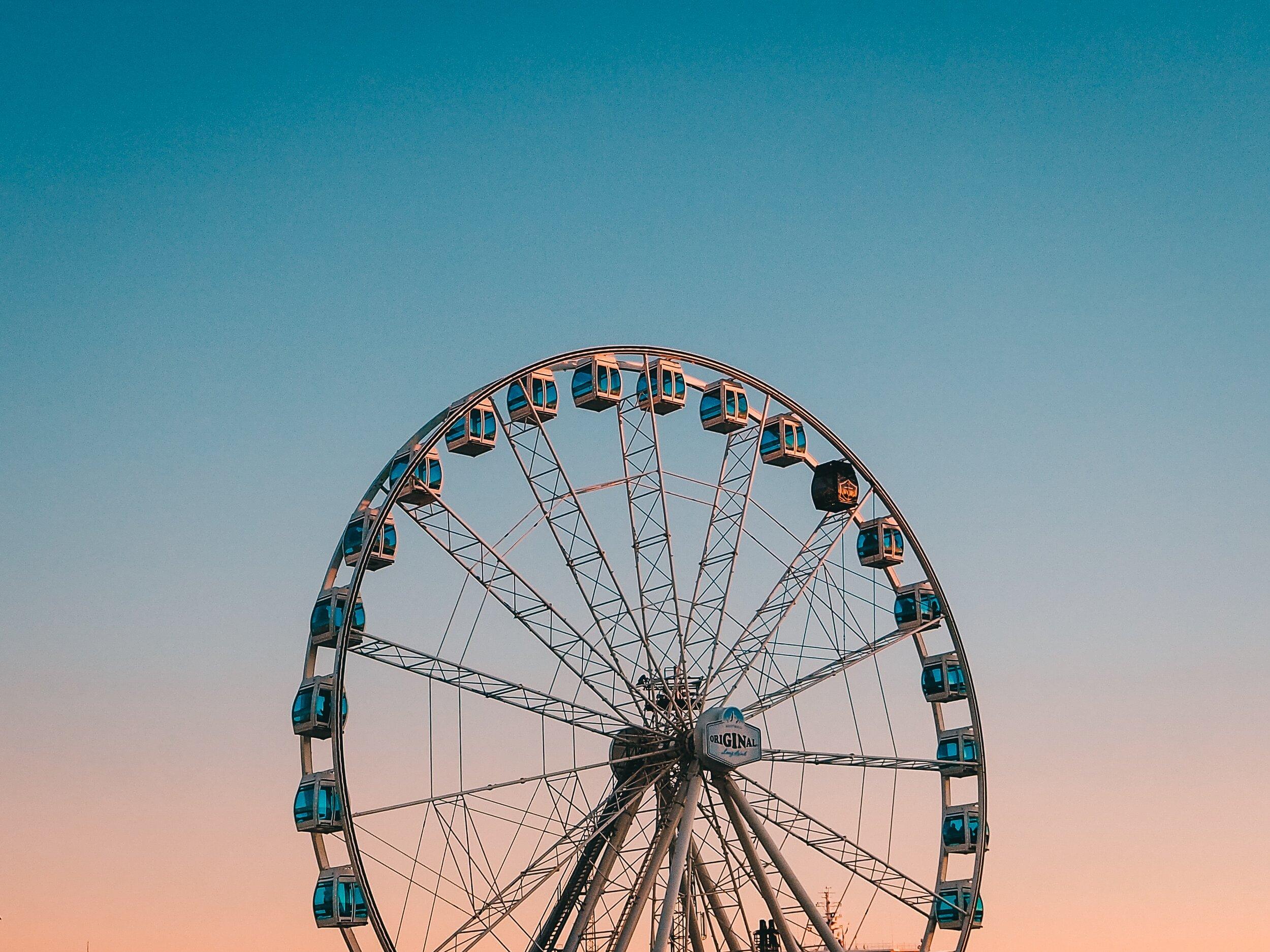skywheel helsinki finland ferris wheel