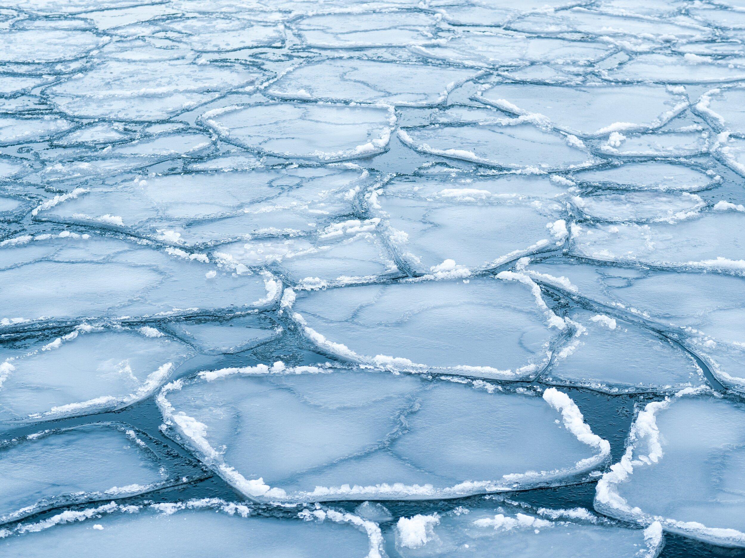 frozen baltic sea helsinki finland