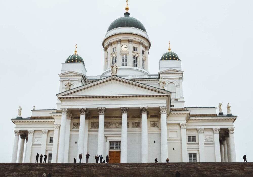 helsinki+cathedral+finland