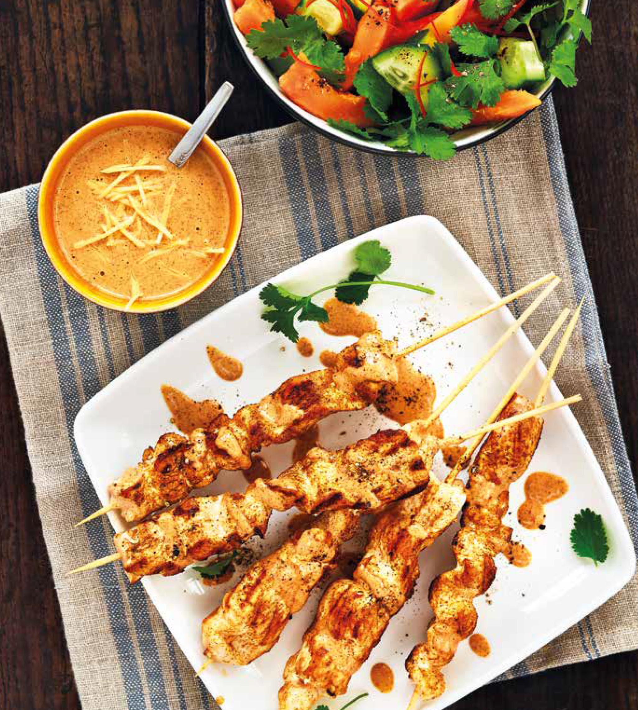 SATAY CHICKEN WITH PAPAYA & CHILLI SALAD.jpg