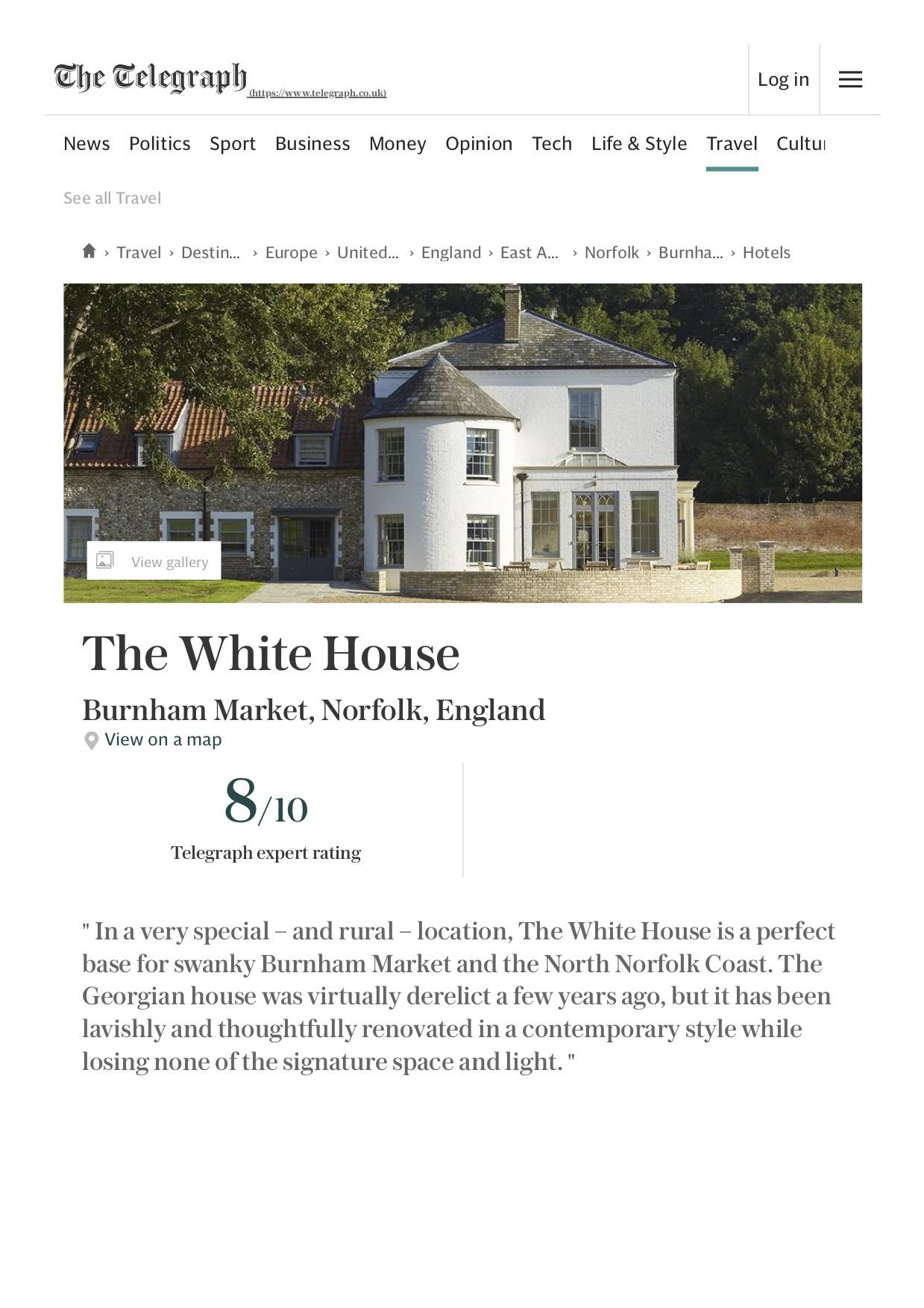 The White House Hotel Review, Burnham Market, Norfolk _ Telegraph Travel.jpg