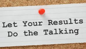 Resume - Let your results do the talking