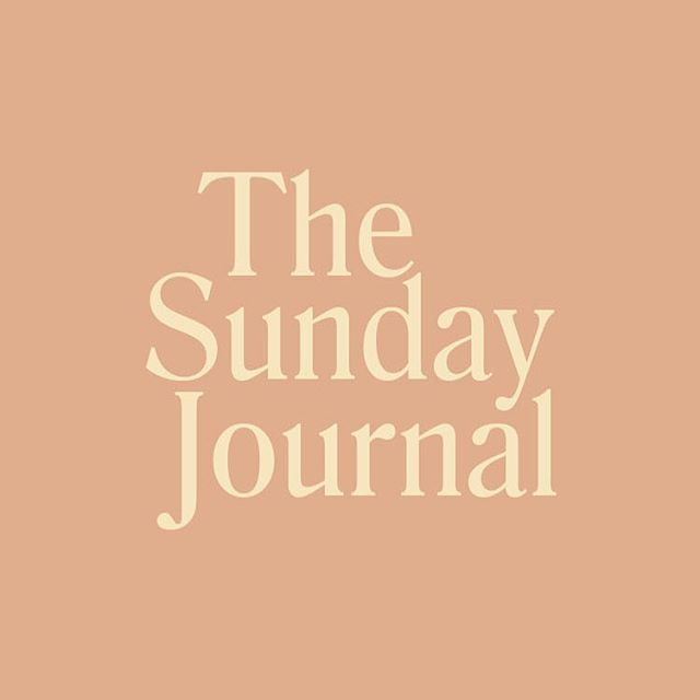 Our Sunday Journal is back! Subscribe to our newsletter for a weekly roundup of editorials that exist as a space for fresh perspectives while indulging in relaxation. Link in bio.