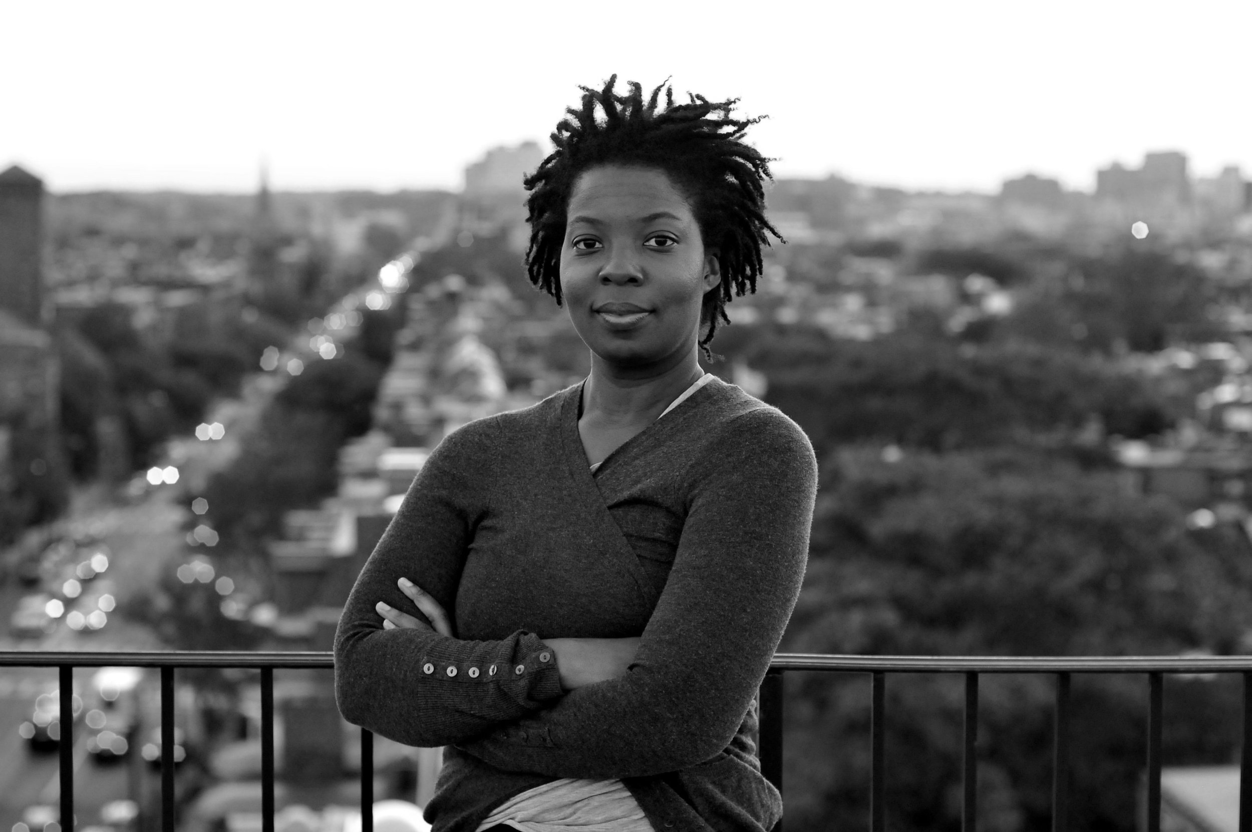 Erica Walker, from the Noise and the City  site . (Photo by Julio Cesar Roman)