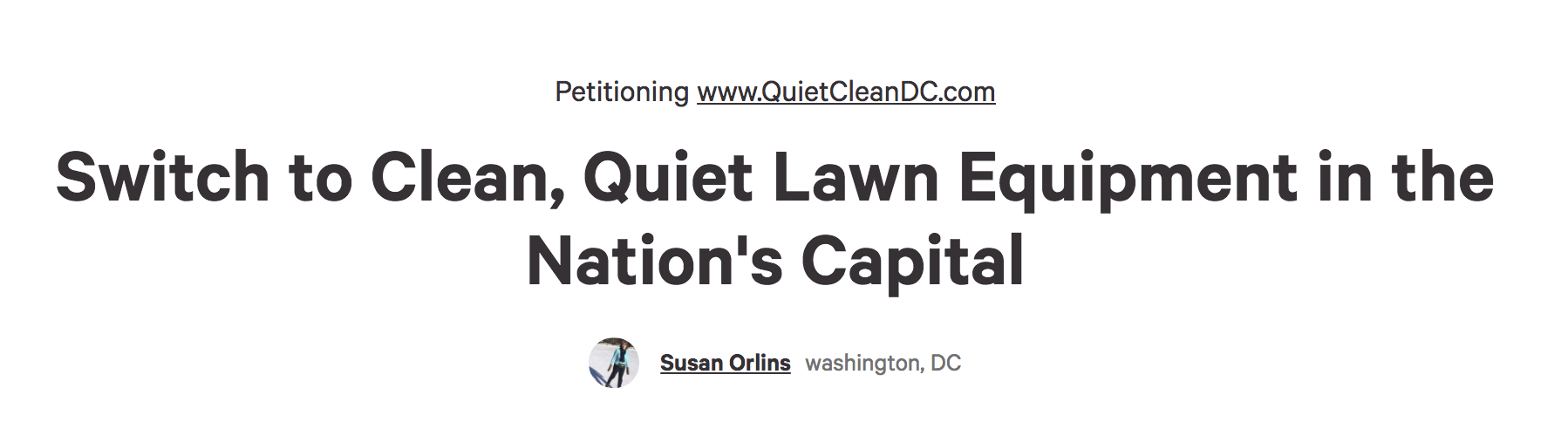 DC residents especially, and interested supporters from around the country,  can sign this petition  for hearings by the DC City Council on proposed legislation.
