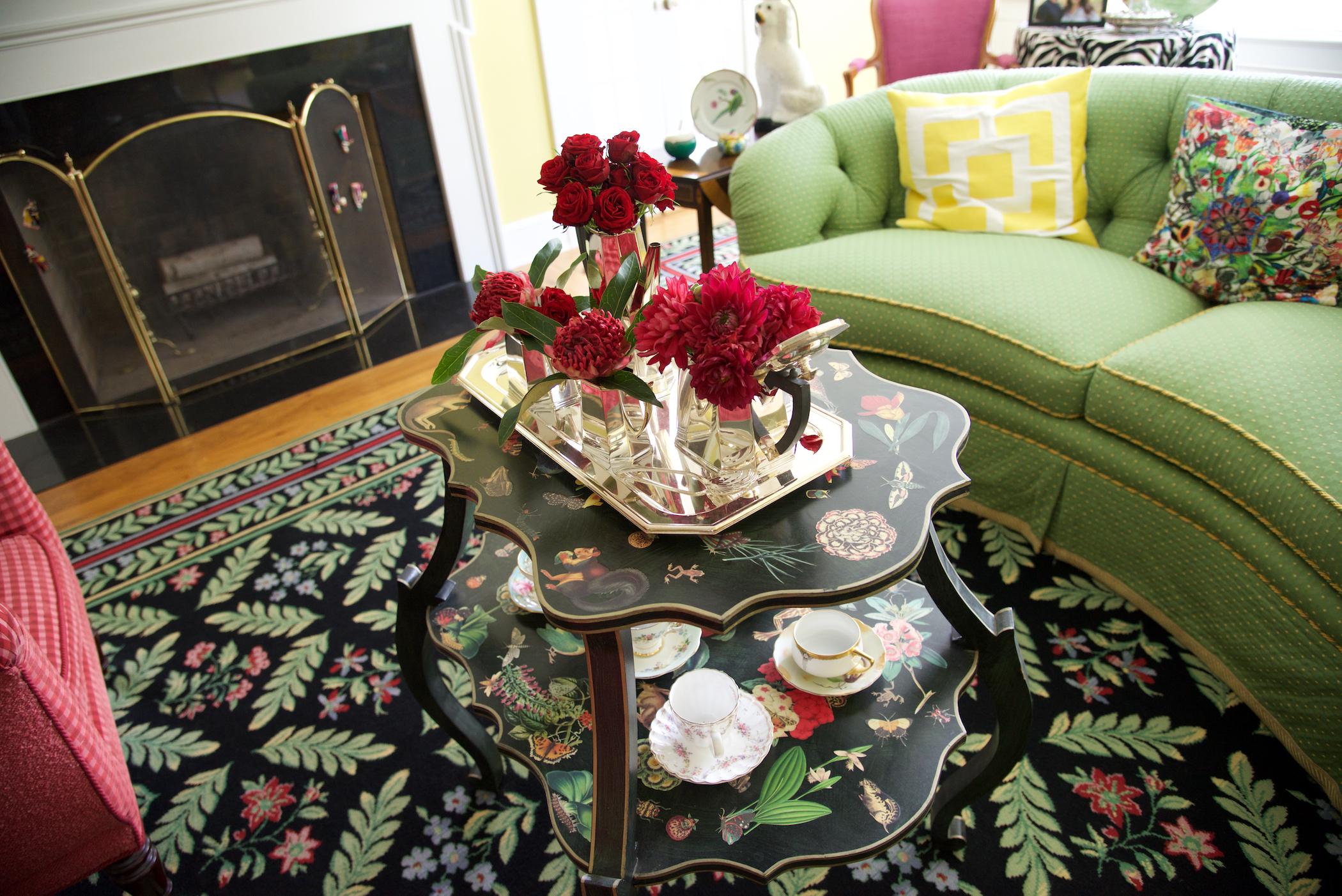 Floral Tea Service