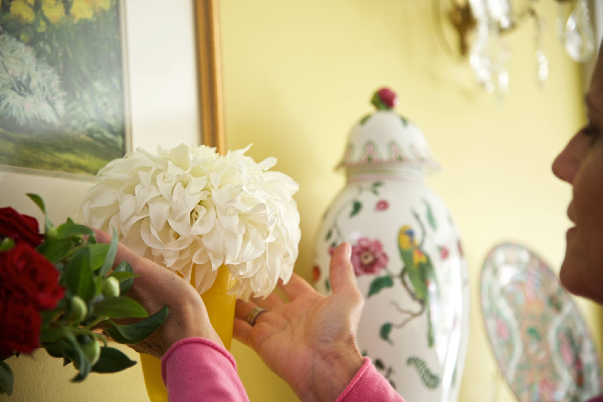 Flowers for the mantle.jpg