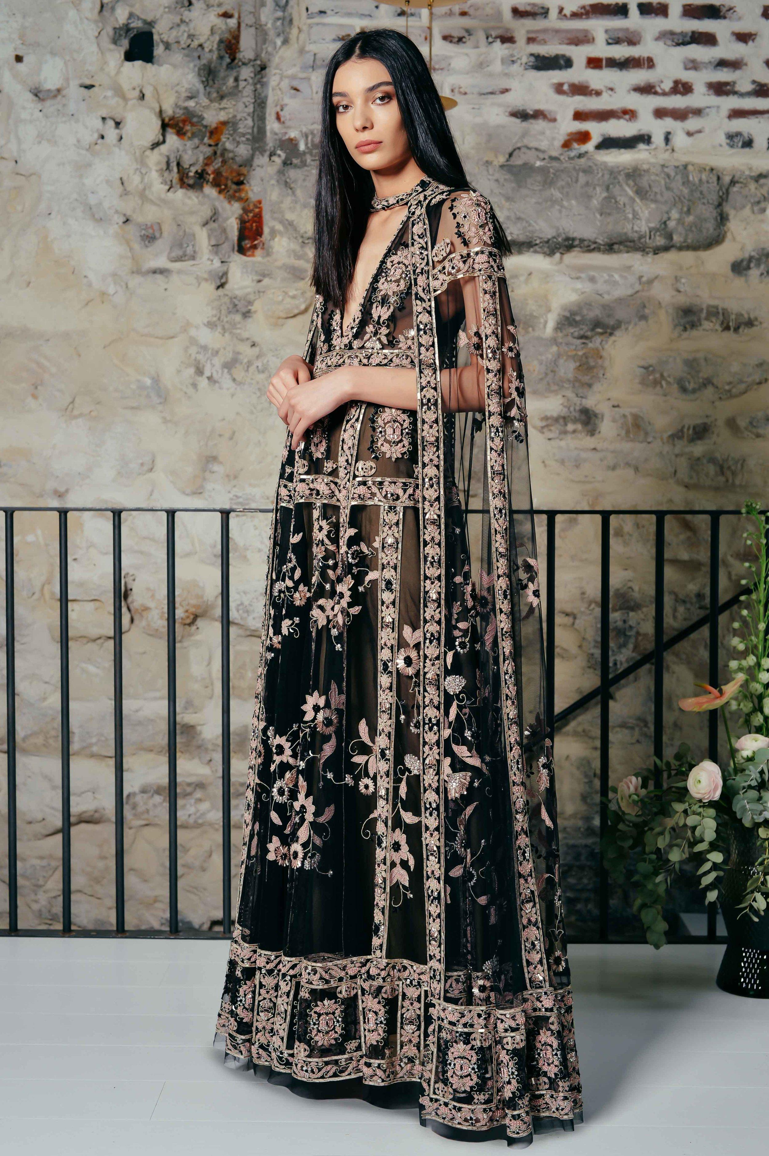 SACRED GEOMETRY CAPE + DRESS