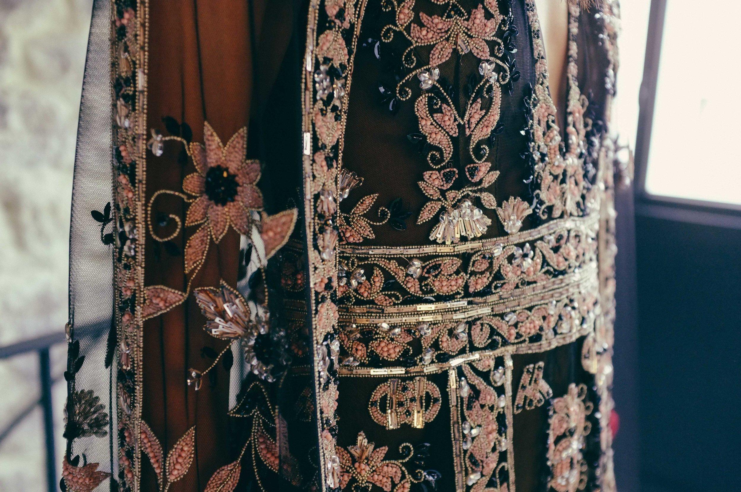 SACRED GEOMETRY DRESS + CAPE