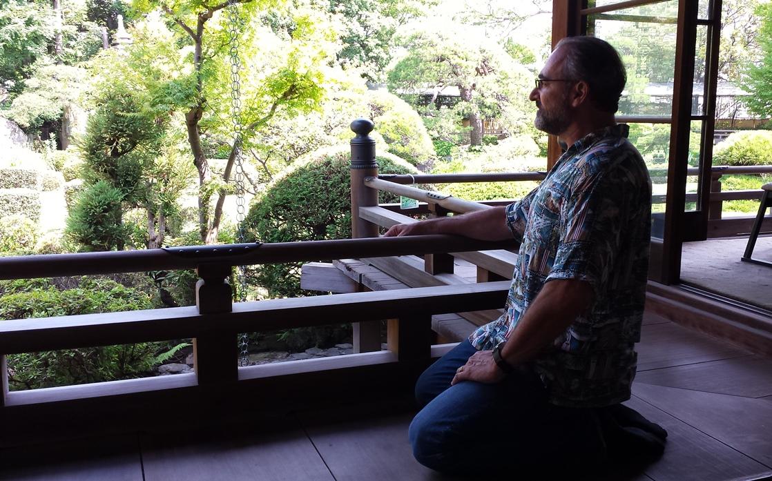 Sensei Swart in Japan