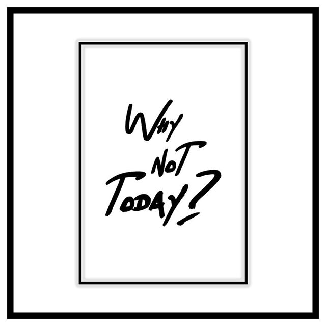 """Why not today?"" 🙌🏼 I have asked myself this for the past few weeks but the timing just hasn't been right until today! Let's get this show on the road 🎶 Bespoke prints, business cards, flyers & designs available on request ✏️ • • • • • • • • #interiordesign #interiordesigner #interiordecorating #decor #homedecor #homedesign #homedecoration #printshop #prints #graphicdesign #graphicdesigner #graphics #typography #typographydesign #homemade #designer #design #designs #quotes #quoteoftheday"