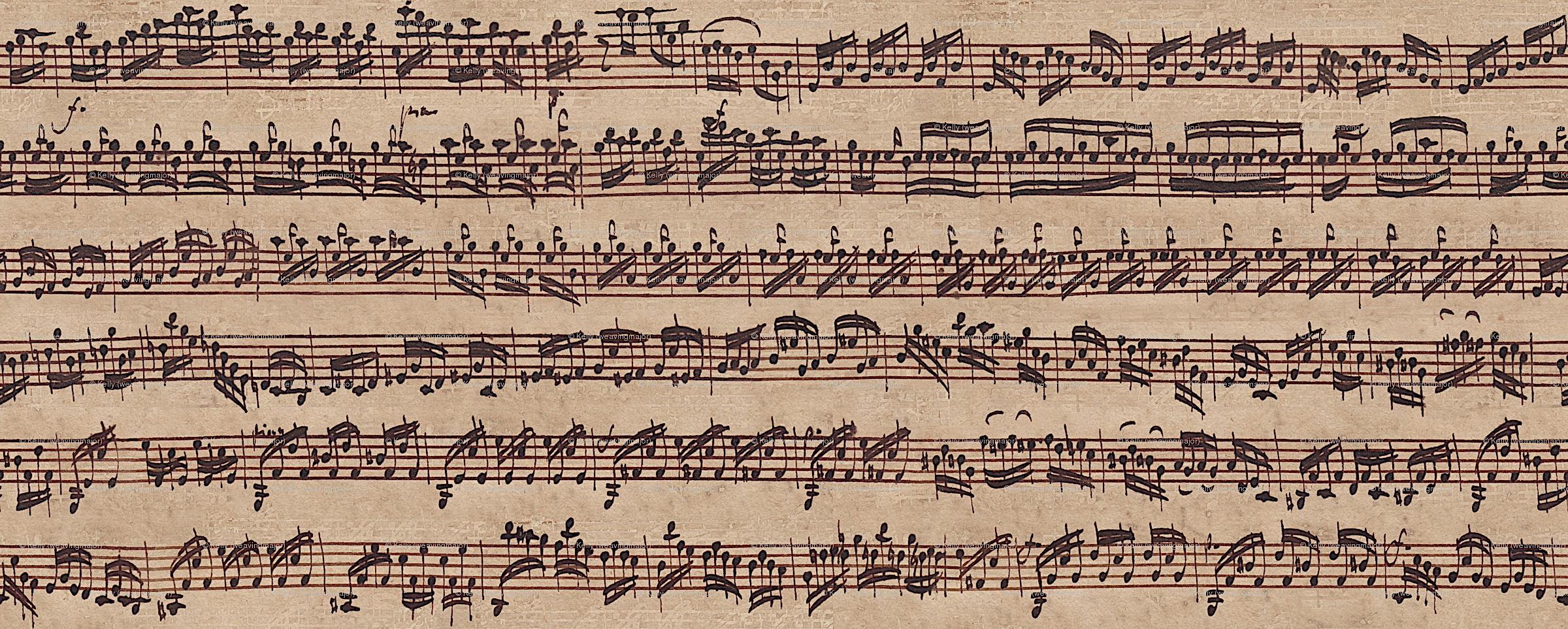 Bach Handwritten