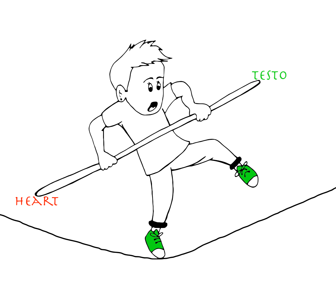 Testo CVD balance