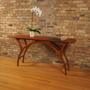 The Arch Table in cherry