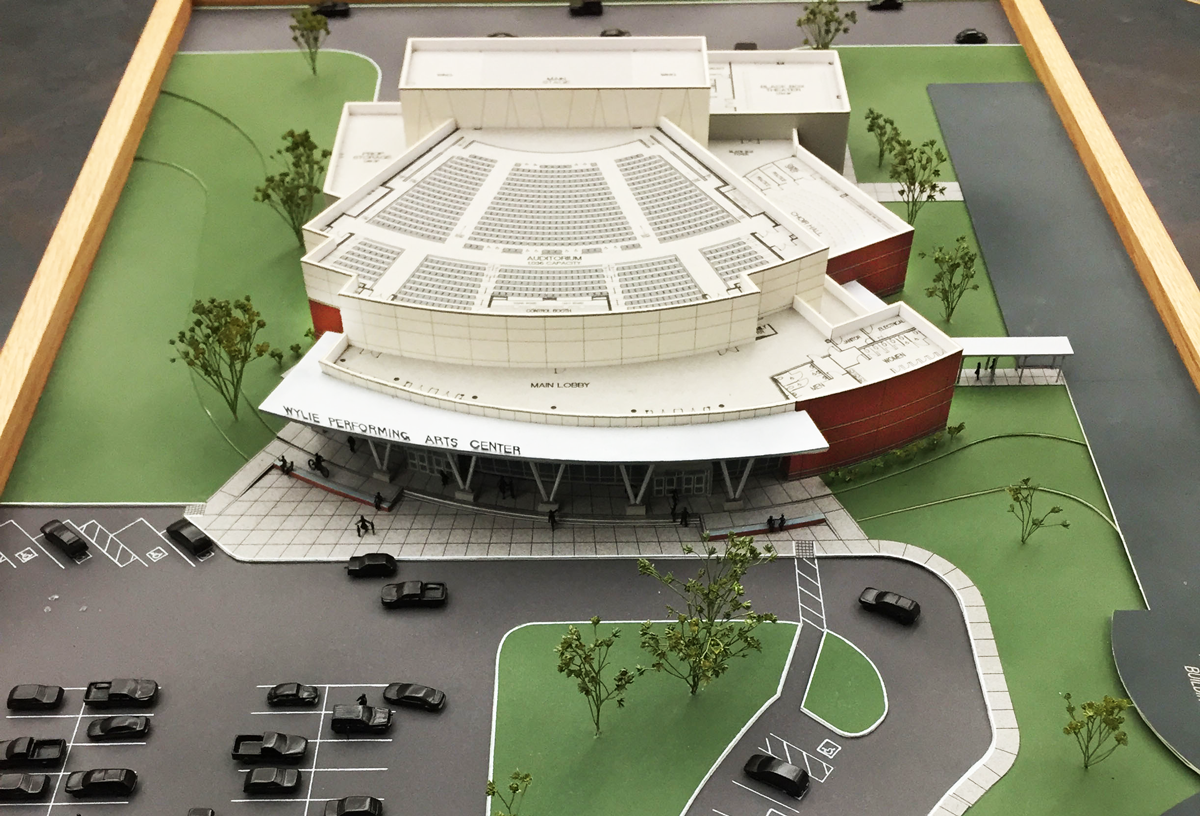Performing Arts Center - Wylie, TX - 35,000 sq. ft.
