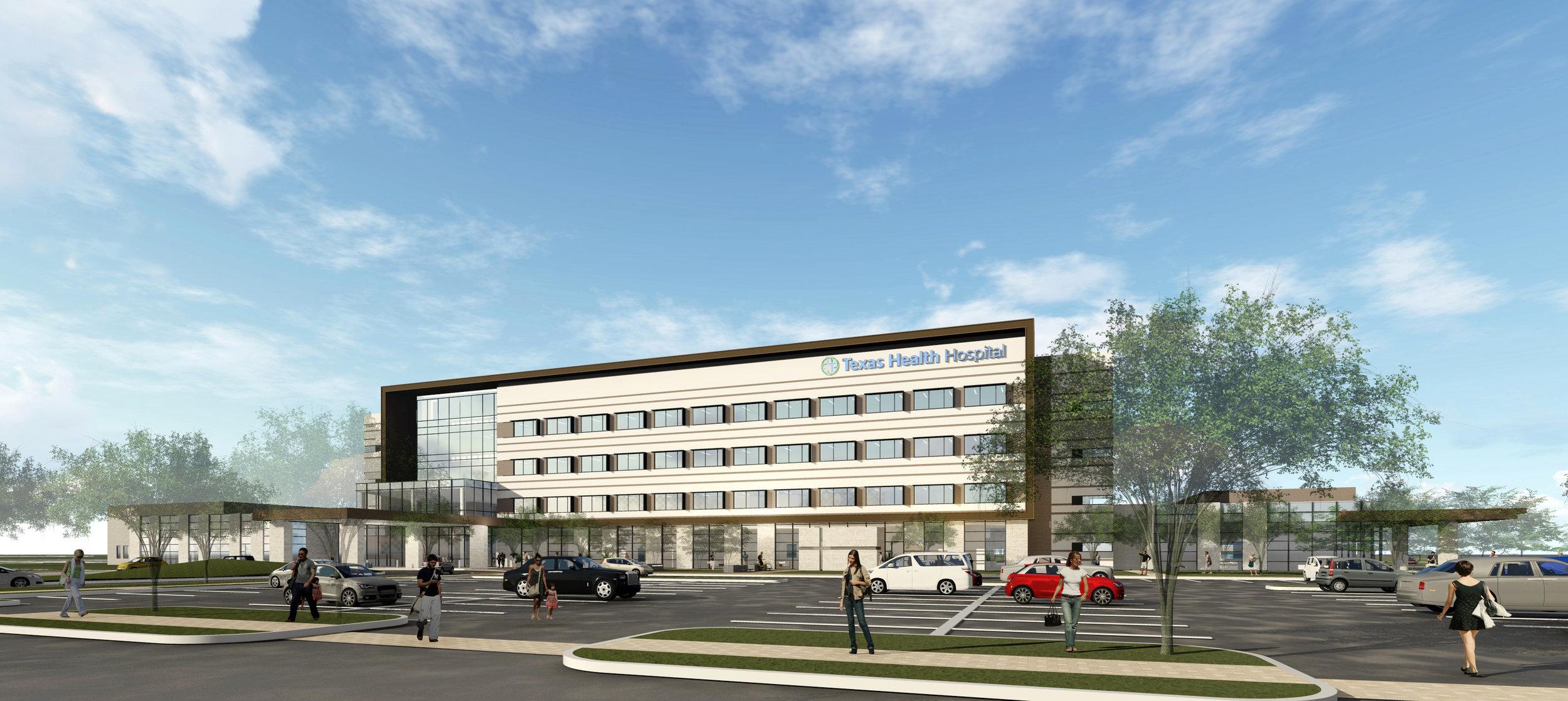 Texas Health Mansfield Hospital – Mansfield, TX – 140,000 sq. ft.