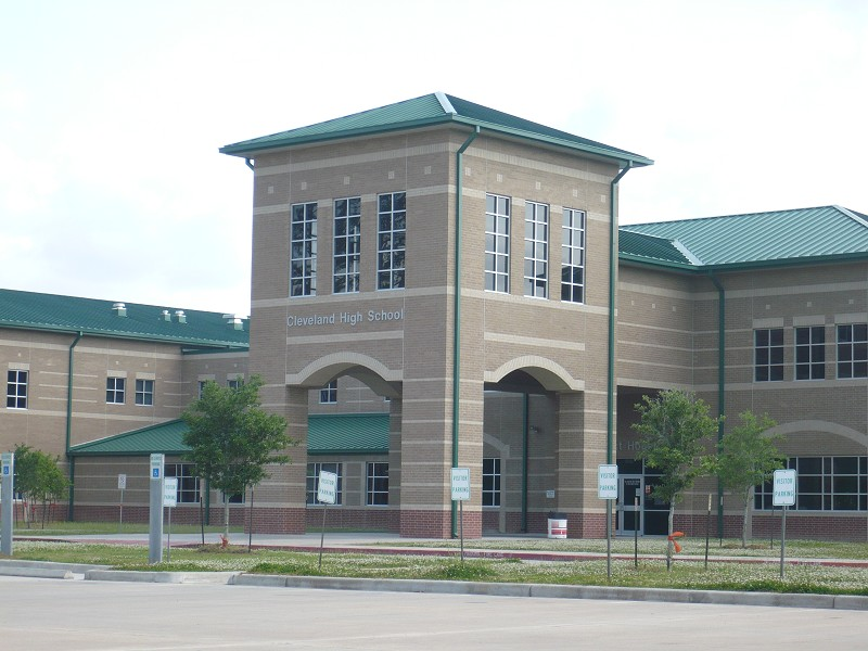 Cleveland ISD High School – Cleveland, Tx.- 120,000 sq. ft.
