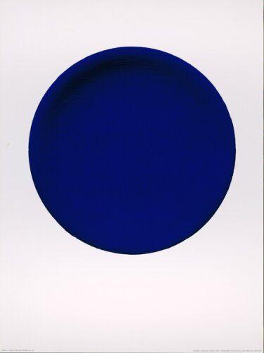 Yves Klein, Blue Circle. 1957