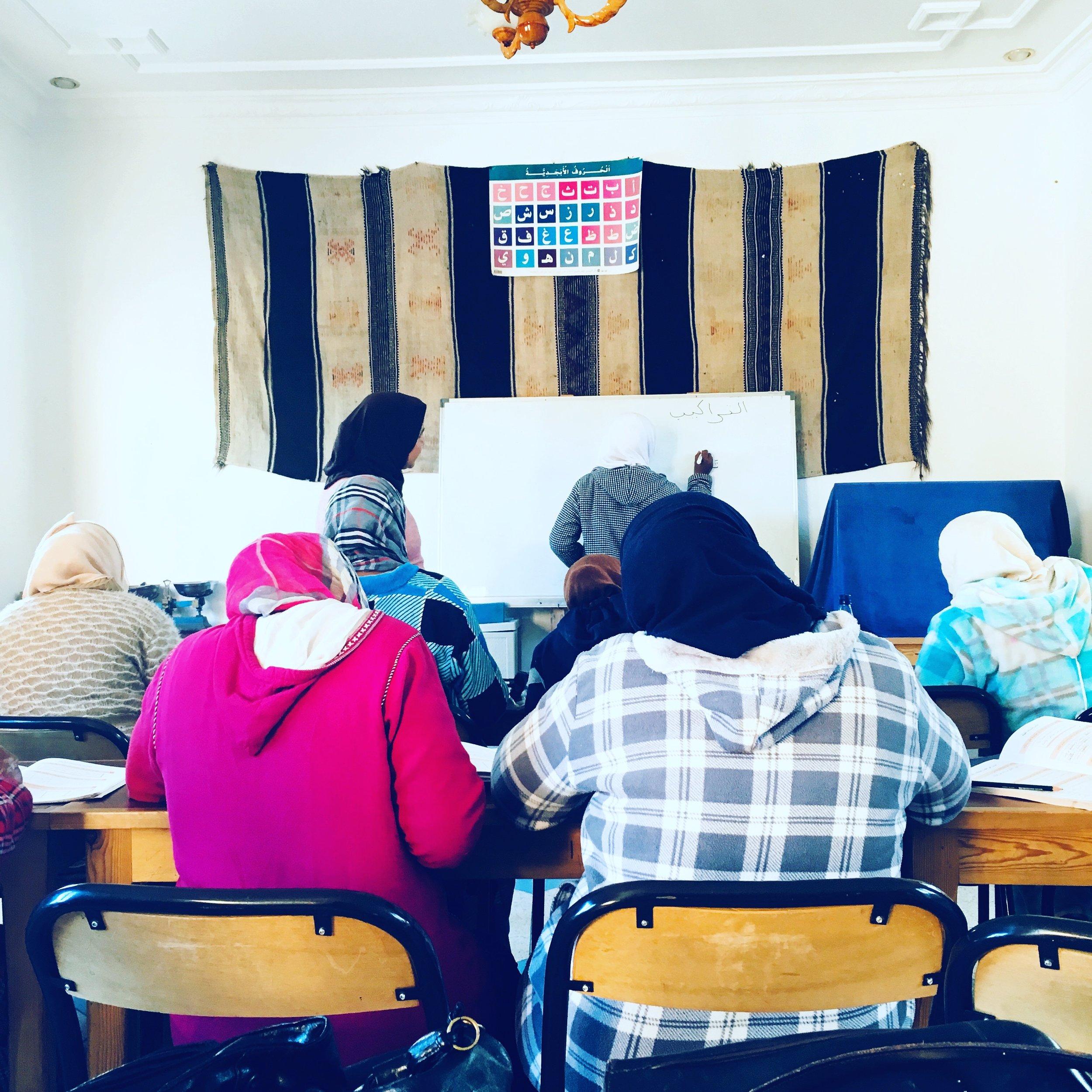 Maroc Alphabétisation