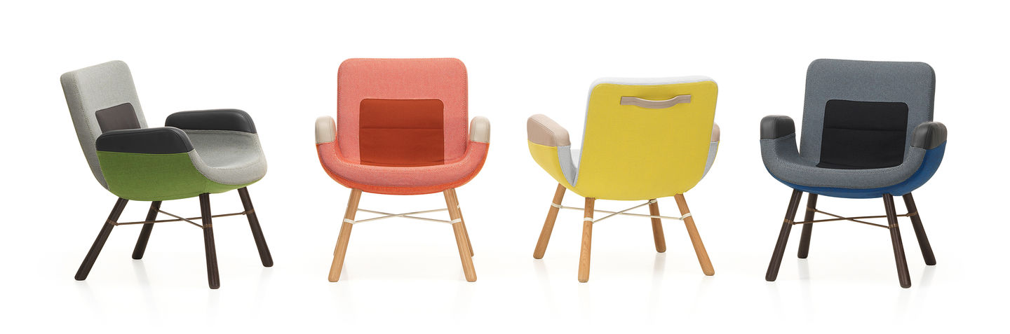Hella Jongerius' East River Chair for Vitra