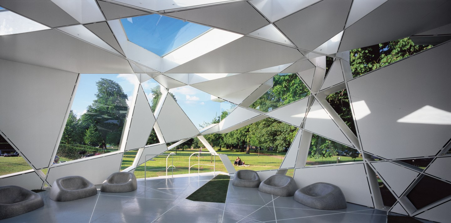 Image 6 of 34 | Serpentine Gallery Pavilion 2002 by Toyo Ito and Cecil Balmond with Arup