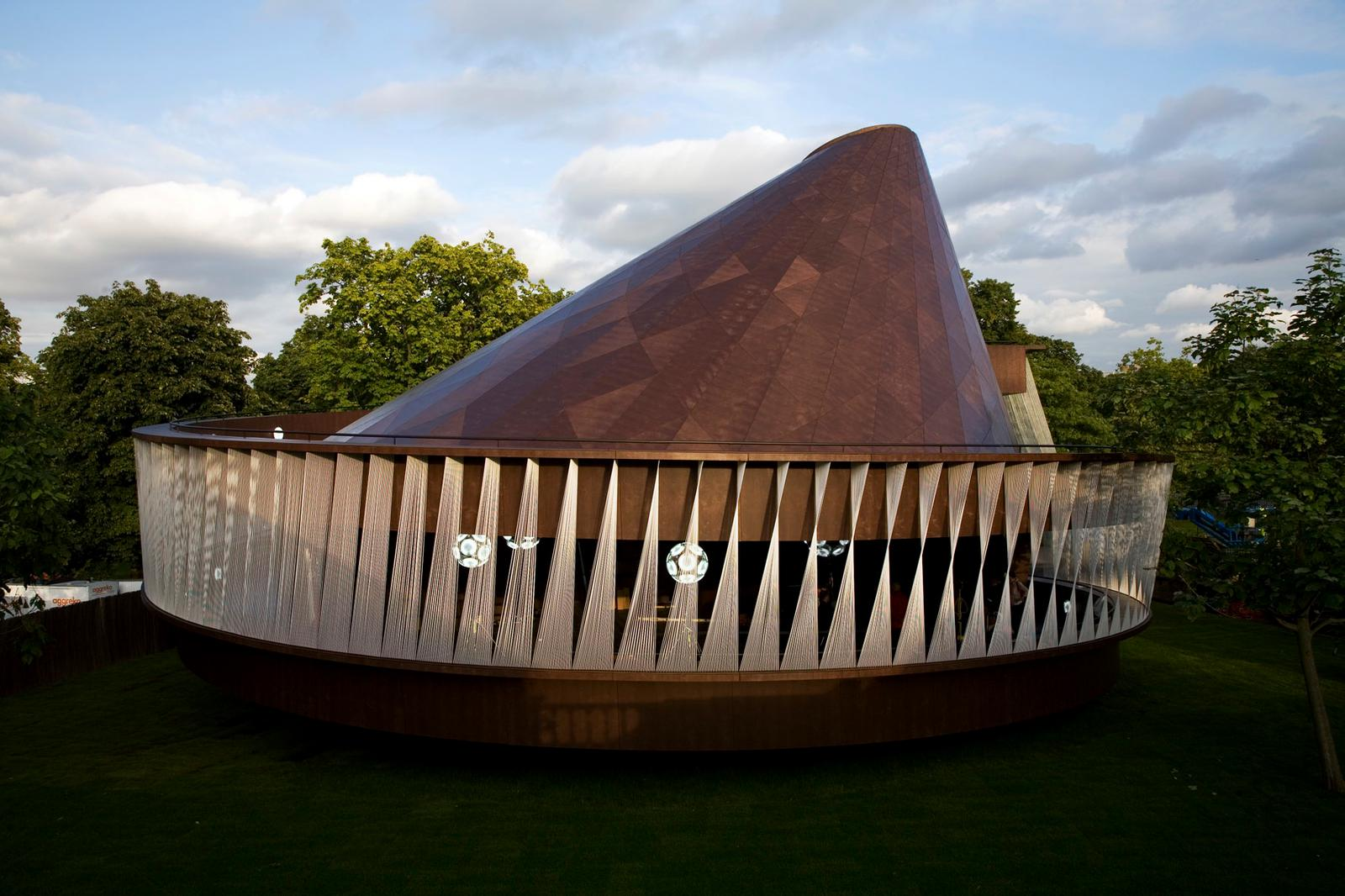 Image 11 of 34 | Serpentine Gallery Pavilion 2007 by Olafur Eliasson and Kjetil Thorsen