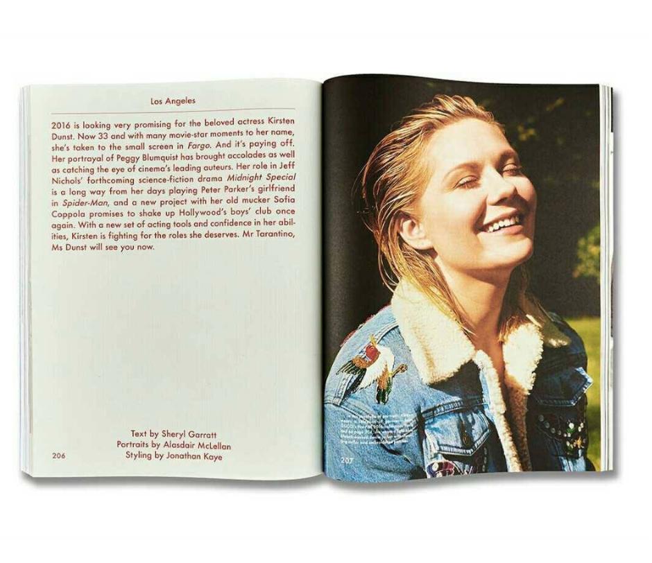 Issue #13 - Spring & Summer 2016 - Feature: Kirsten Dunst