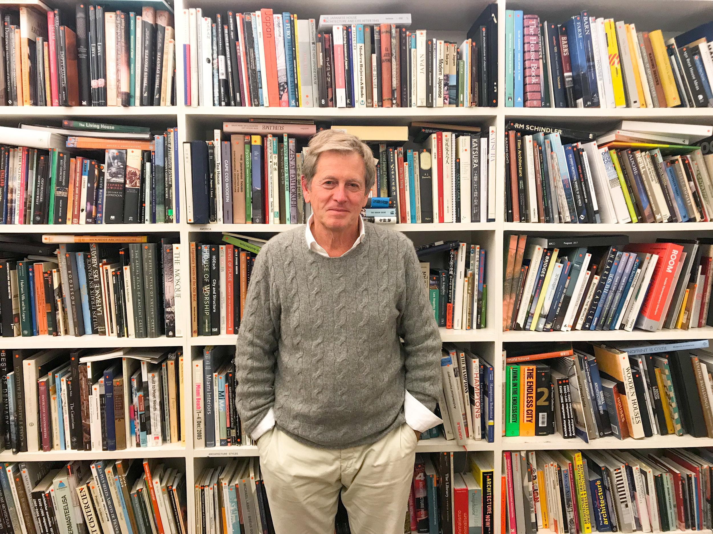 John at his London Studio, October 2017