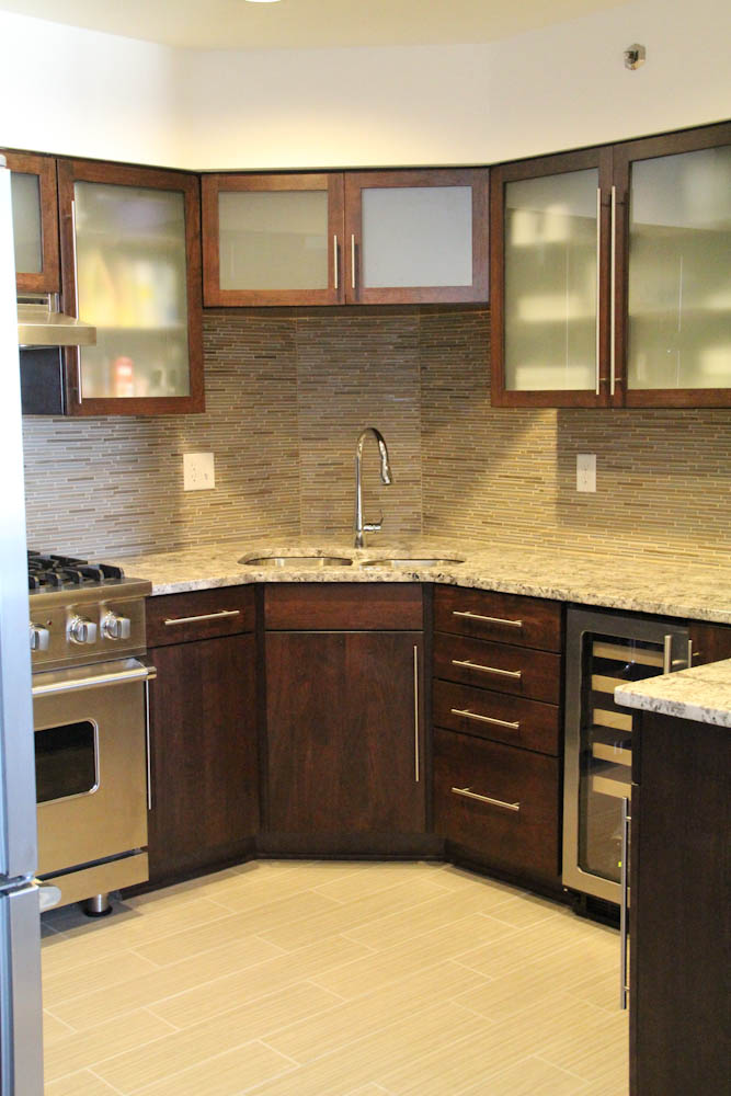 Racine Condo    Lake Michigan lakefront condo located in Racine. Complete condo renovation including a modernized kitchen and bathroom from floor to ceiling.