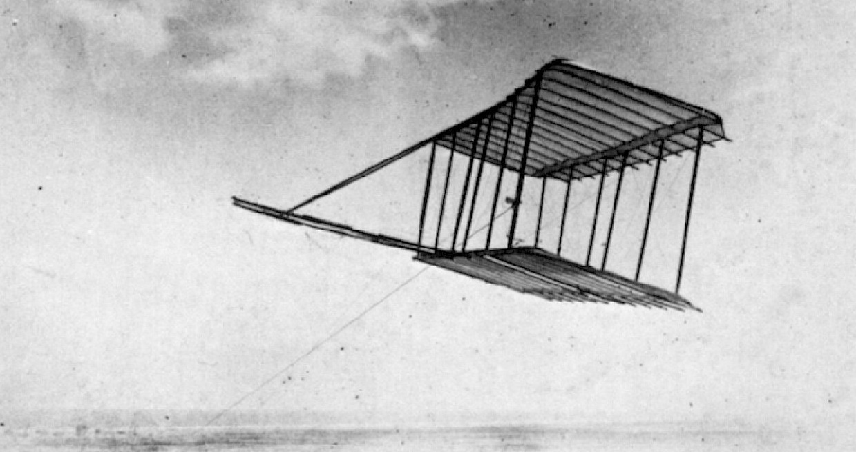 Requesting all information on wing design & construction from the Smithsonian, the Wrights proceeded with designing various kites and gliders to better understand the construction and behaviour of wings. -