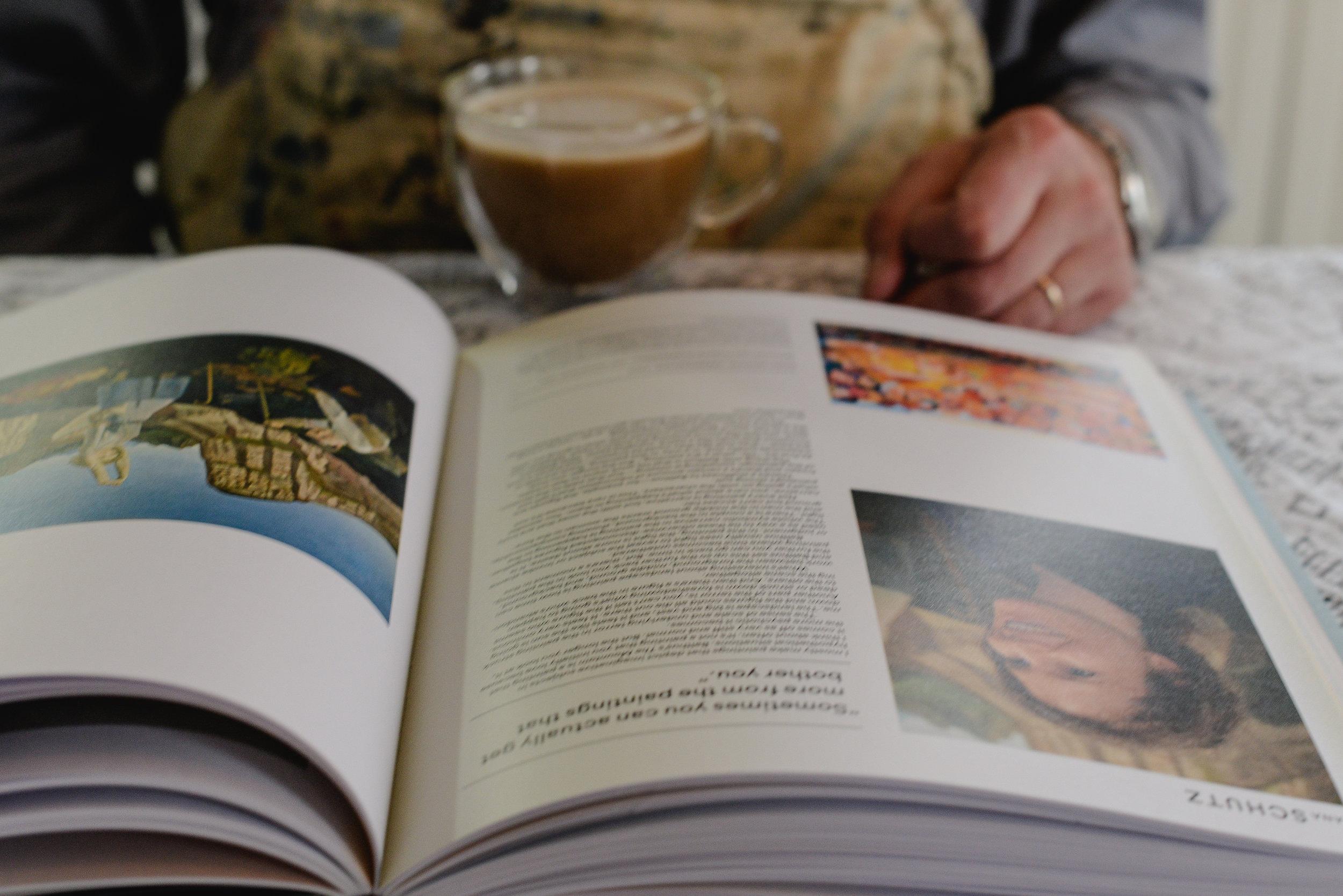 artist and art book