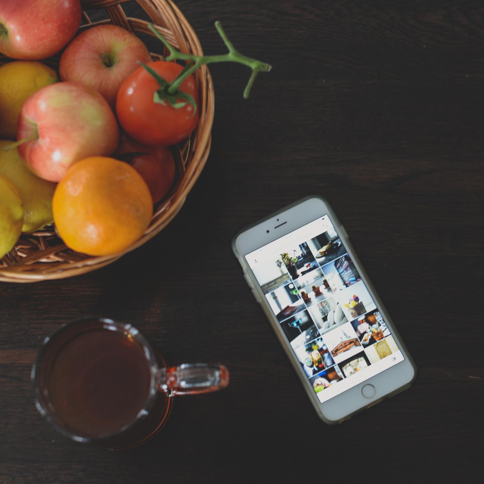 iPhone and tea