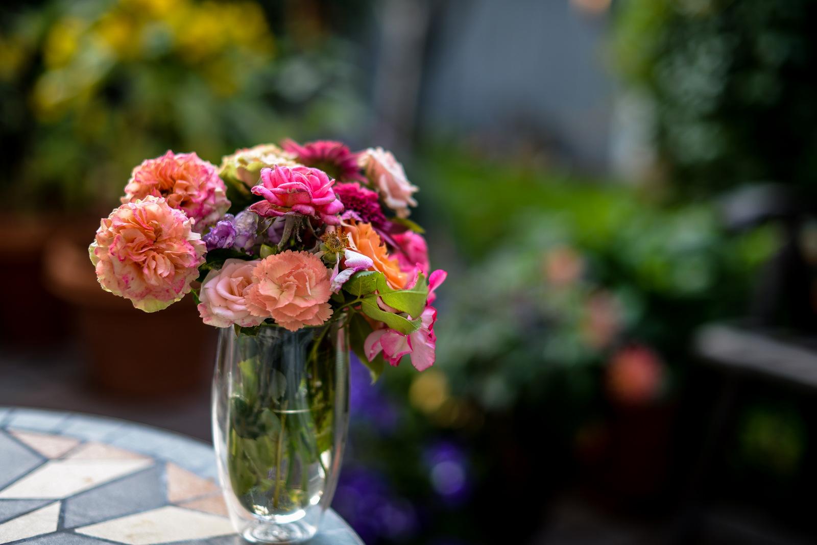 bouquet outside