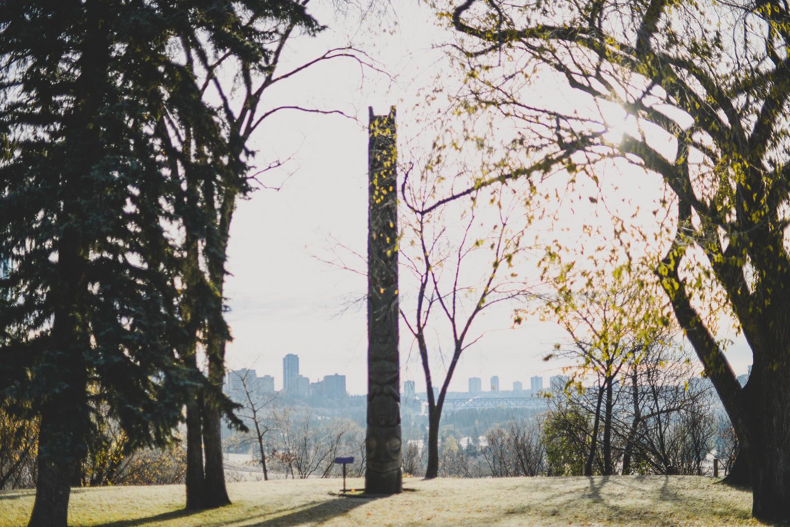 Ksan Totem Pole Edmonton