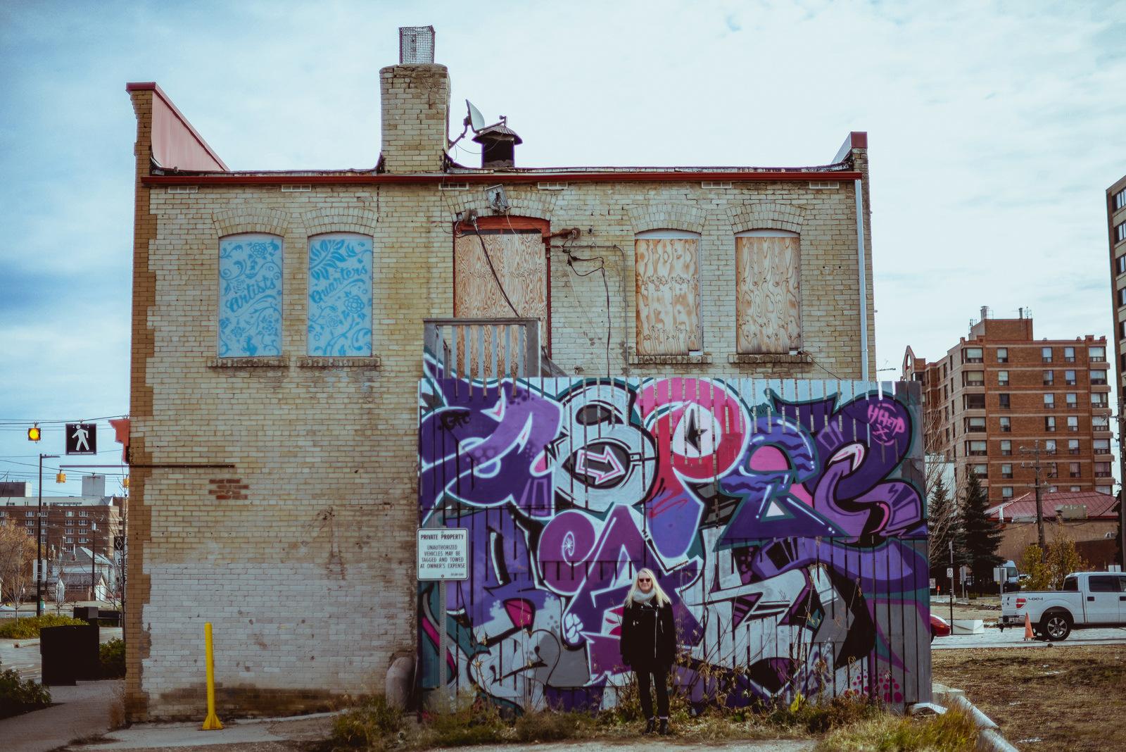 Graffiti and Shawna Lemay