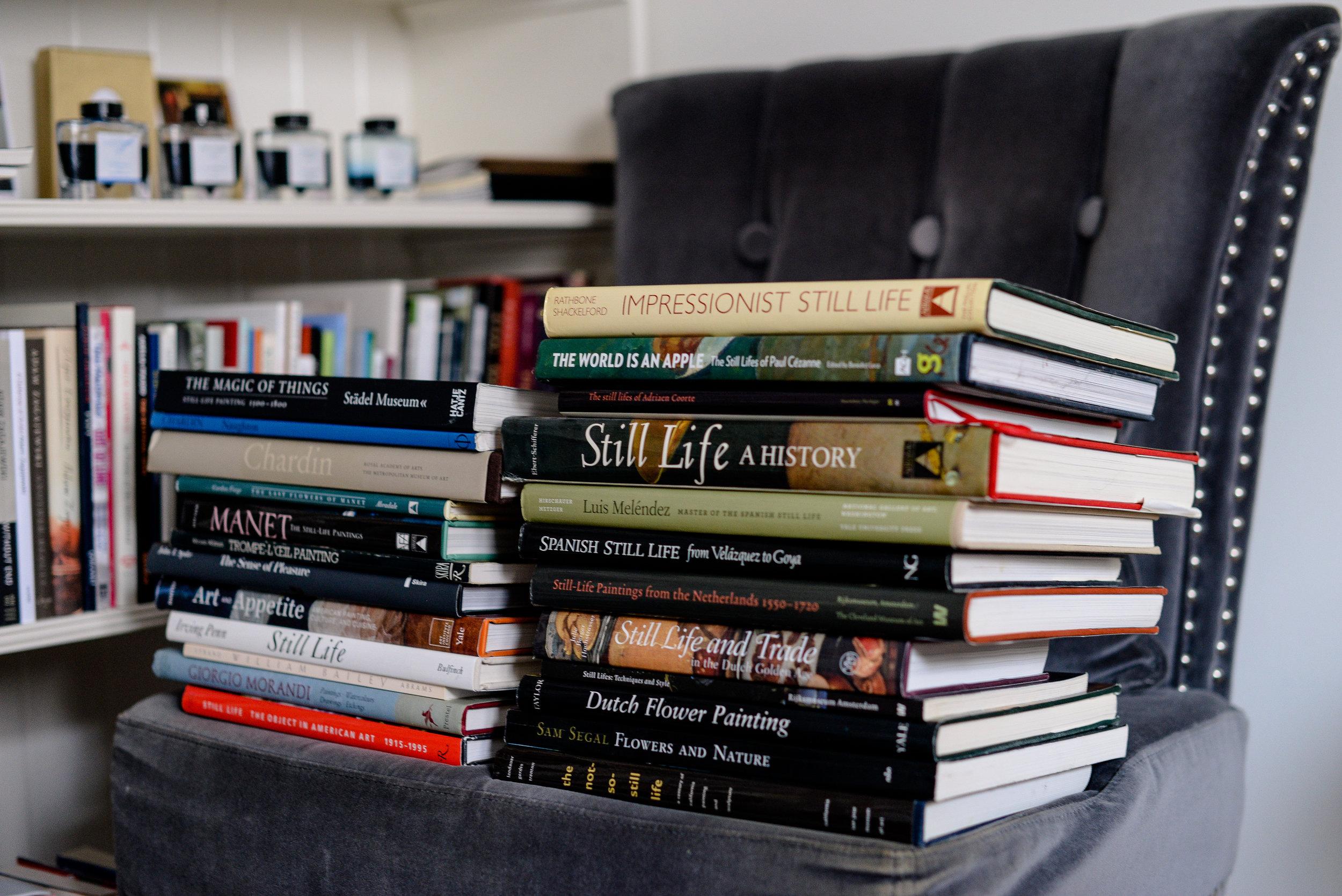 still life books