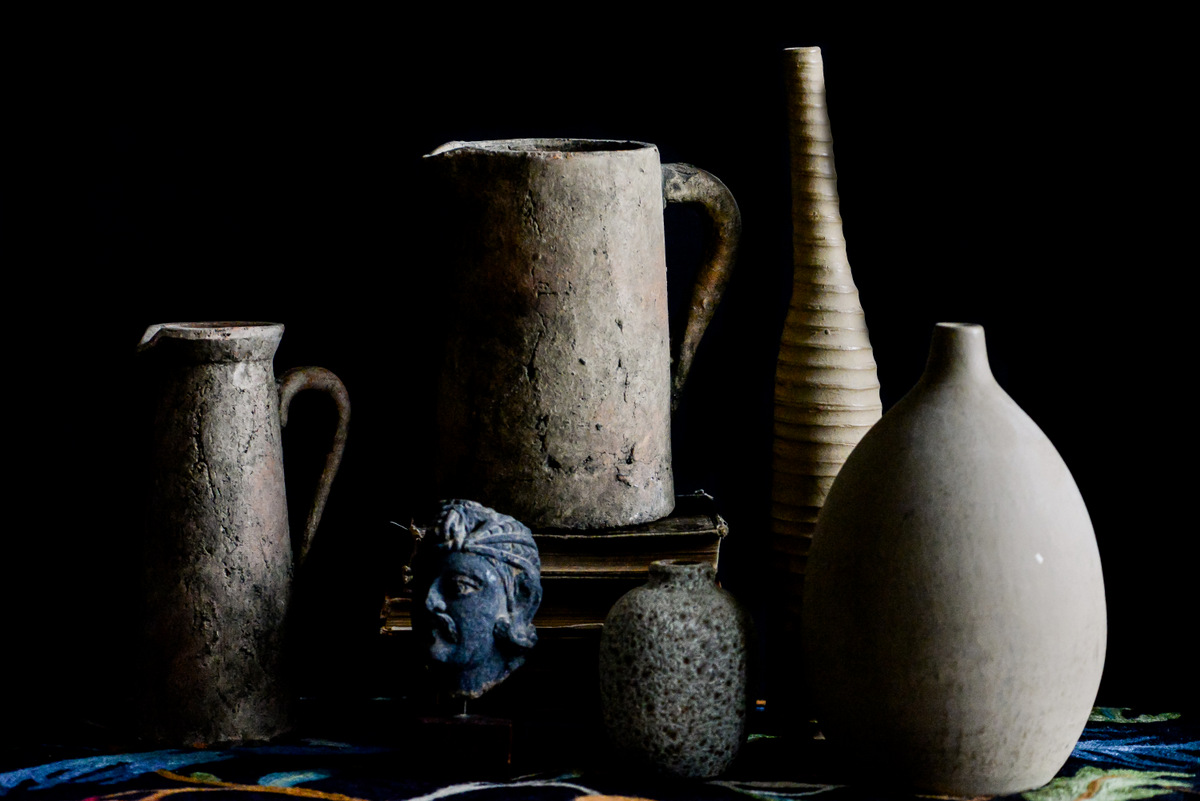 still life with pitchers shawna lemay