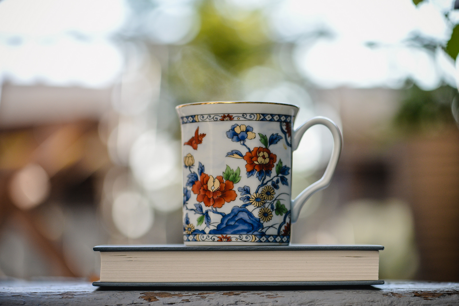 tea cup by Shawna Lemay