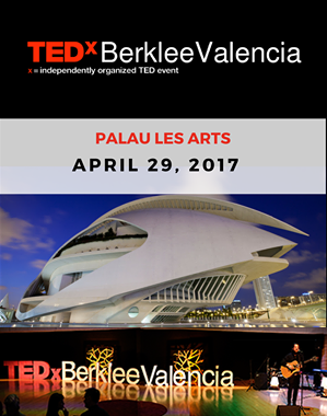 It was an incredible honour to be chosen to perform at the TEDx show at the amazing Palau Les Arts. A great selection of speakers and musicians.