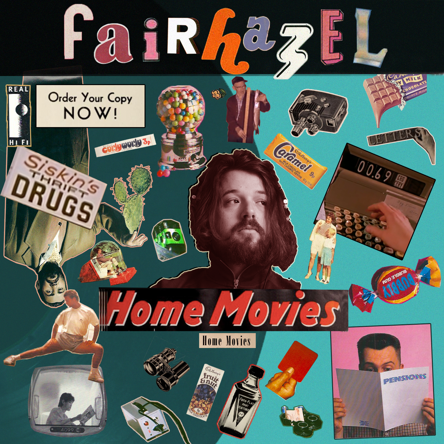Cover of unreleased album Home Movies.
