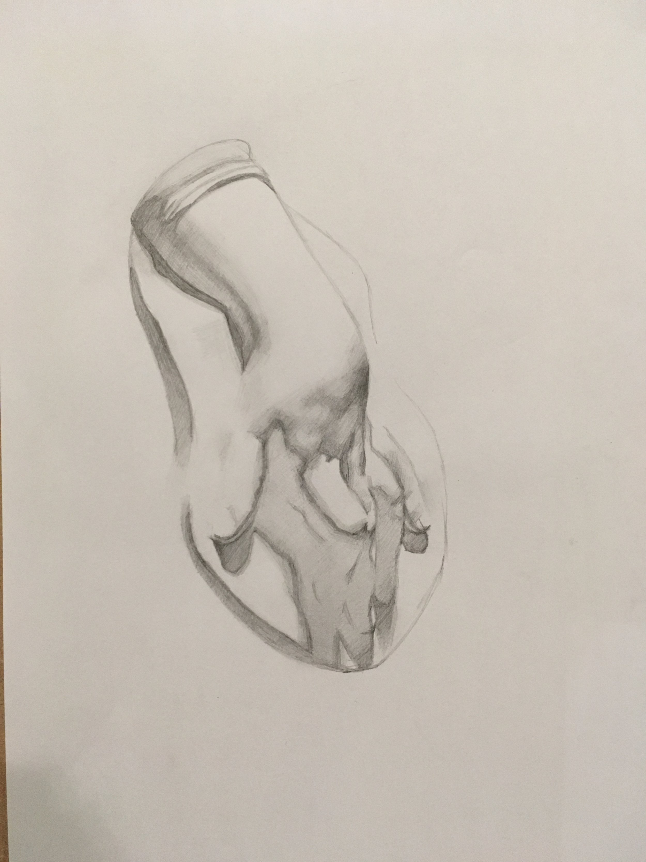 Female Hand Cast Study