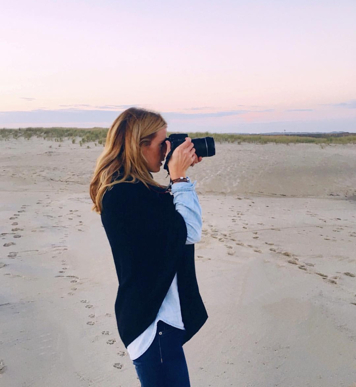 Standard beach gear, right? - Beach appropriate clothing: Milly & GracePhoto: @theneoprenebanker