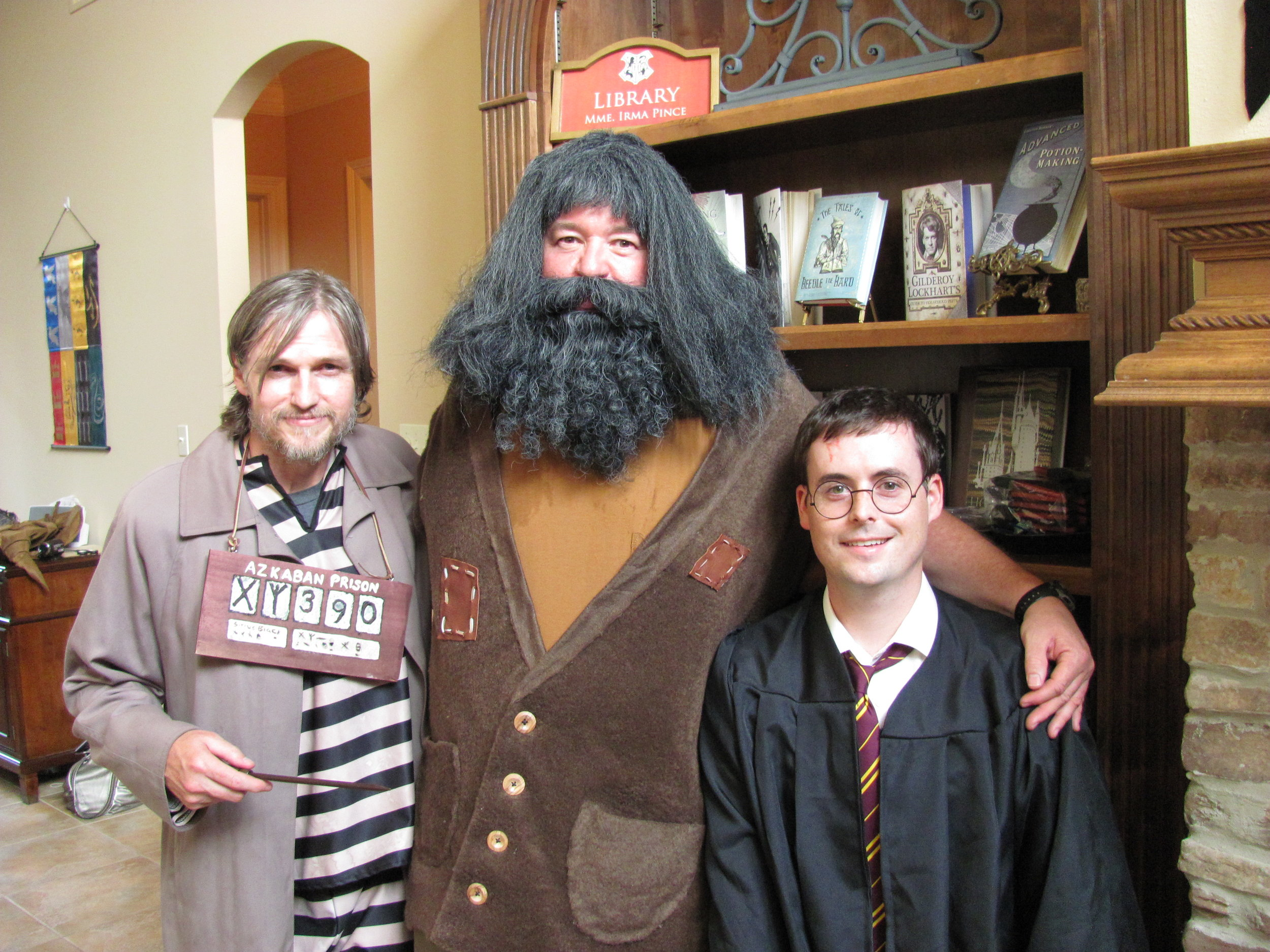 Sirius, Hagrid and Harry Potter ...