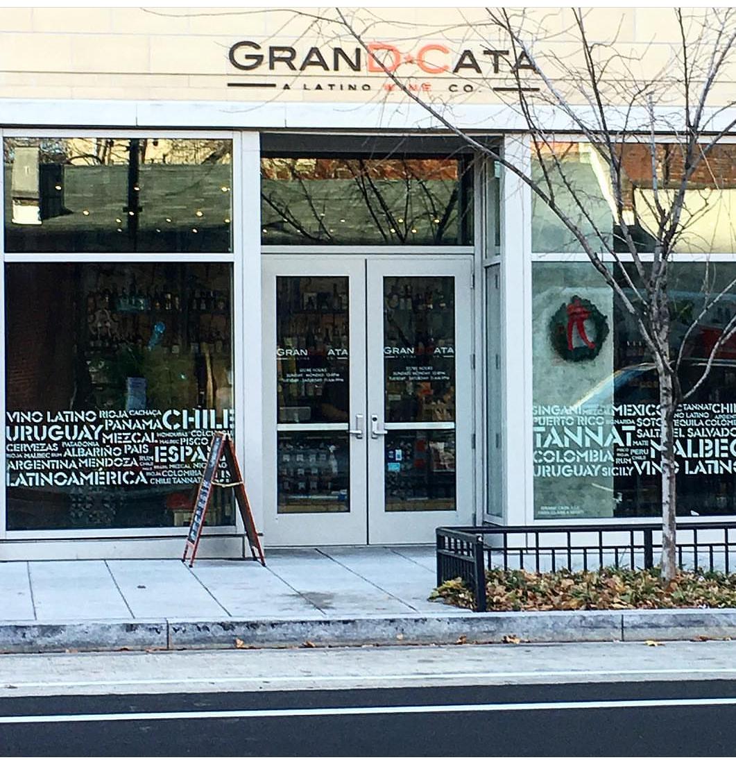 Grand Cata Latin Wine Shop  1550 7th St NW, Washington DC  Shaw-Howard U Metro