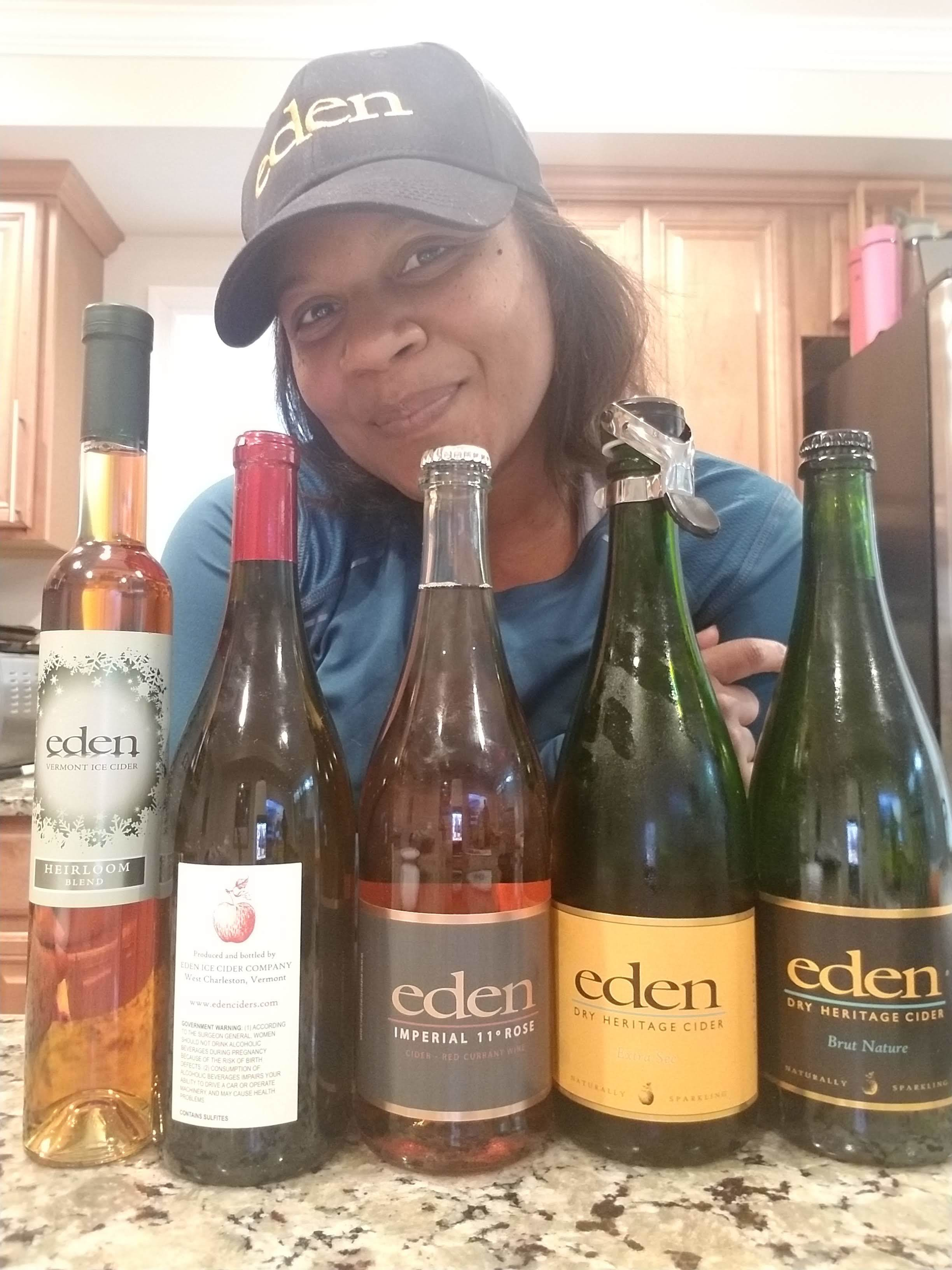 - I was just as excited about Eden Heritage Ciders as I would be about any wine i've received. They were diverse in style and fruit. Pure art. I would say this is the perfect time of the year for ciders but I can see enjoying Eden ciders all year long.Cheers!Vine Me Up