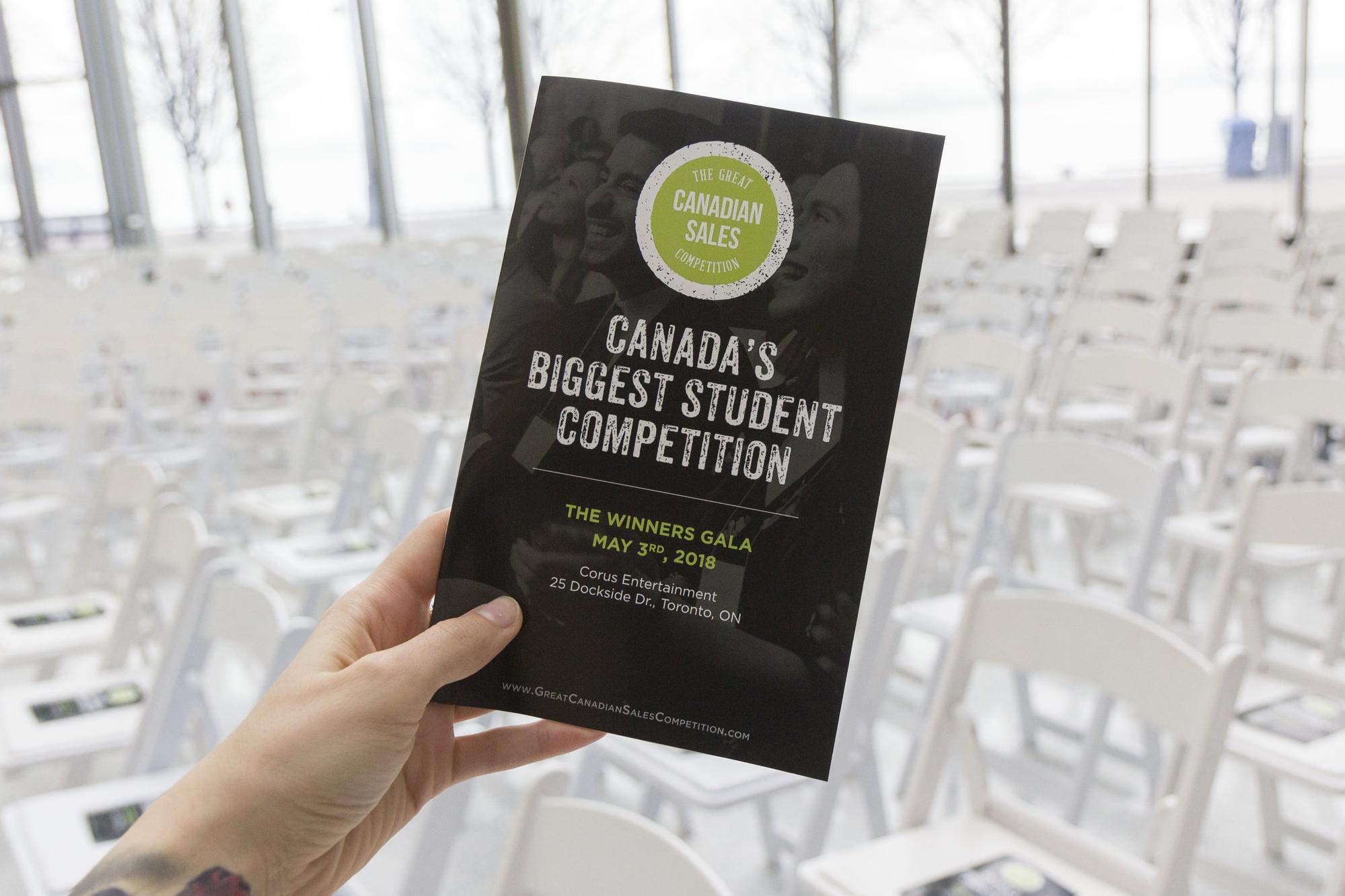 2018 GCSC event brochure