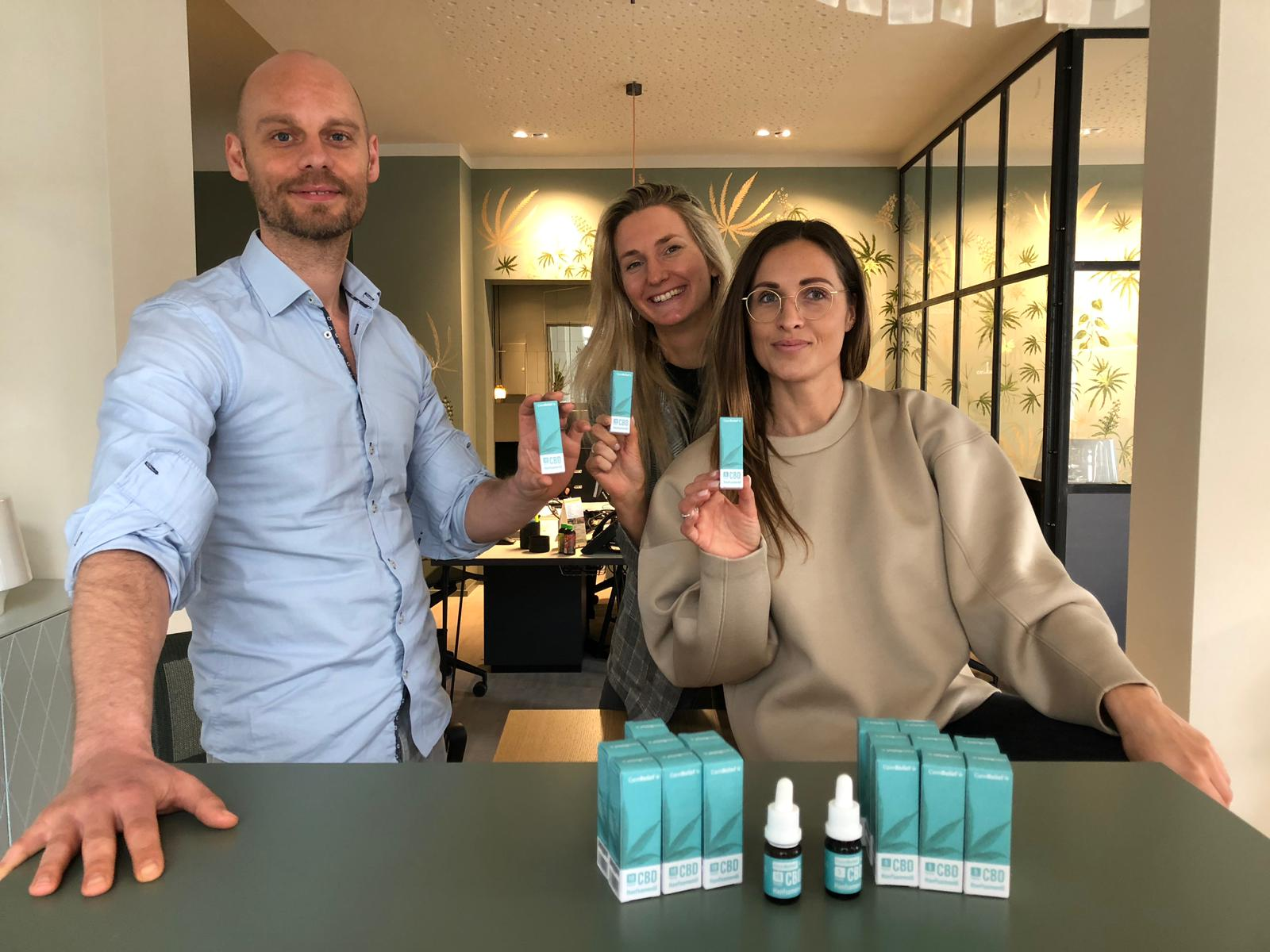 CannRelief is sold in pharmacies across Germany